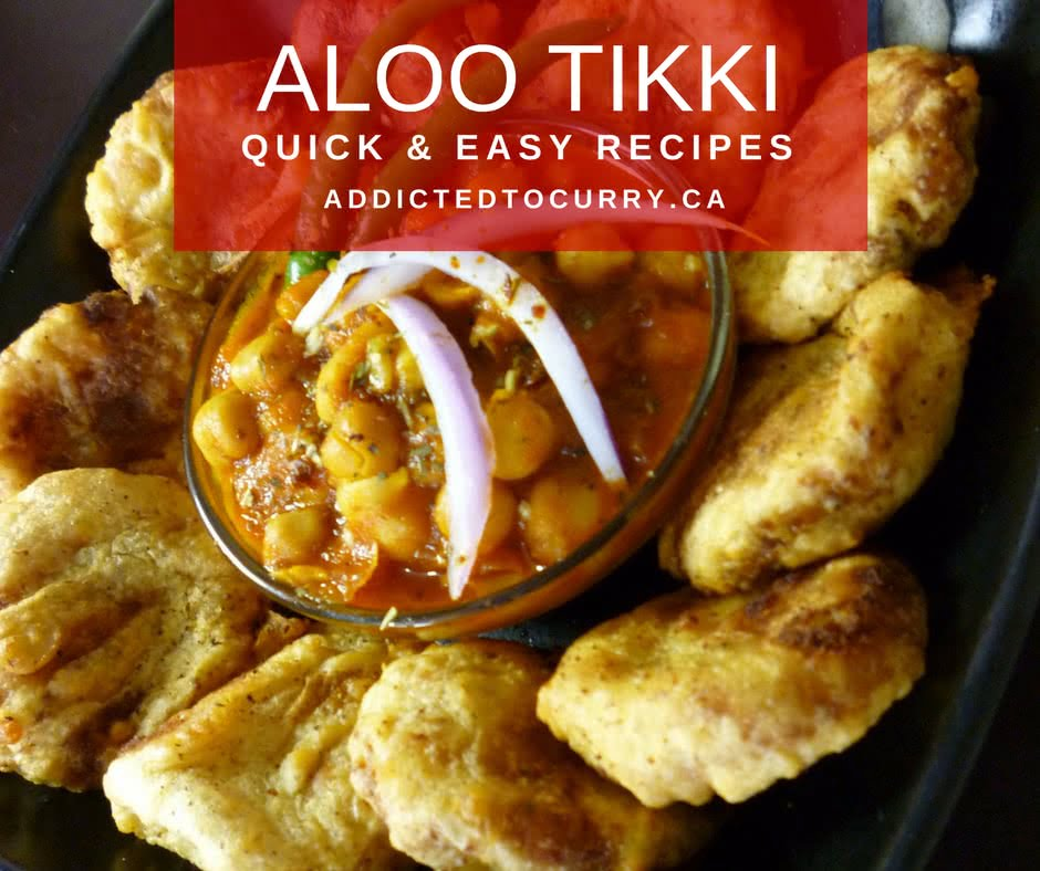 Indian Street Food Aloo Tikki Recipe: Addicted To Curry
