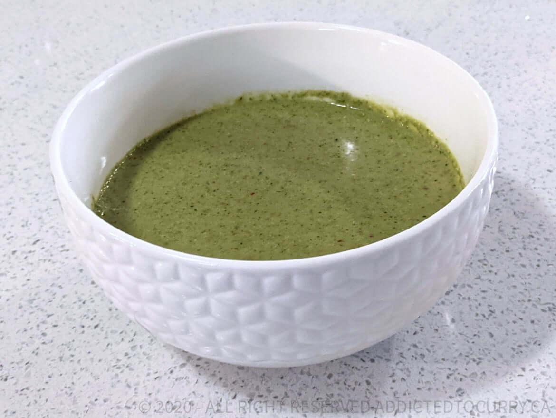 How to make coriander chutney