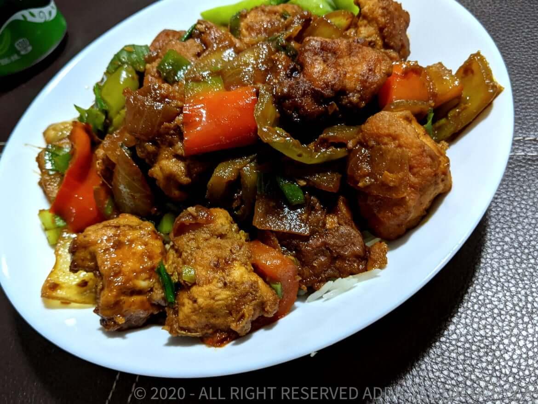Easy Gluten-free Chilli Chicken