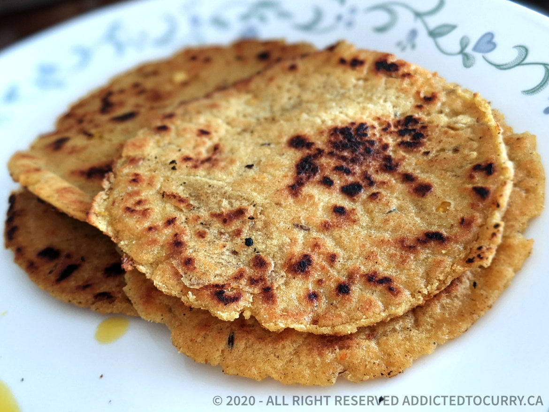 How to make Corn Flour Parathas